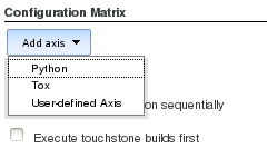 Jenkins Add Axis